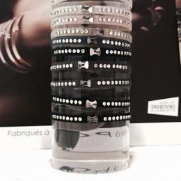 Rose De Coton bracelet swarovski